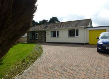 Thumbnail 3 bed detached bungalow for sale in Heather Close, Heamoor, Penzance