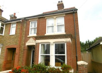 Thumbnail 3 bed semi-detached house to rent in Nelson Road, Whitstable, Kent