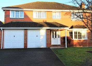 Thumbnail 5 bed detached house for sale in Sheridan Close, Aldershot, Hampshire