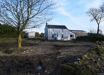 Thumbnail 3 bed detached house for sale in Carnmenellis, Redruth