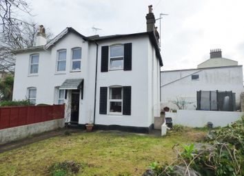 Thumbnail 5 bed semi-detached house for sale in Upton Road, Torquay