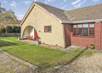 Thumbnail 4 bed detached bungalow for sale in Common Road, Worksop
