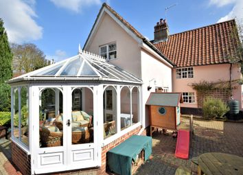 Thumbnail 3 bed end terrace house for sale in Kelsale, Saxmundham, Suffolk