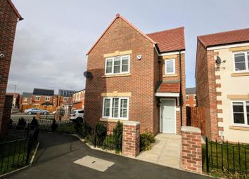 Thumbnail 4 bed detached house for sale in Sandringham Way, Newfield, Chester Le Street