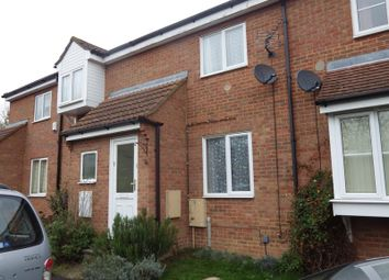 Thumbnail 2 bed terraced house to rent in Begwary Close, Eaton Socon, St. Neots