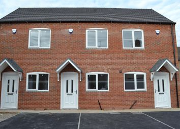Thumbnail 2 bed town house for sale in Belvedere Road, Woodville, Swadlincote