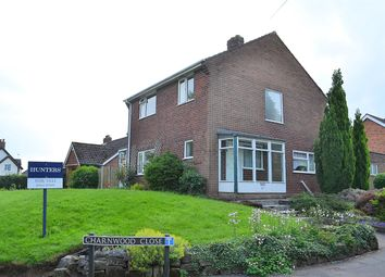 Thumbnail 3 bed detached house for sale in Charnwood Close, Lichfield