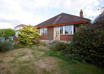 Thumbnail 4 bed detached bungalow for sale in Dorchester Road, Oakdale, Poole