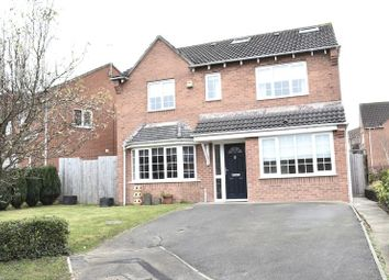 Thumbnail 5 bed detached house to rent in Mansfield Close, Swadlincote