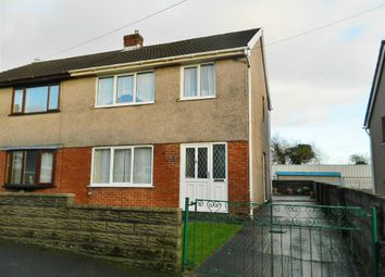 Thumbnail 3 bed semi-detached house for sale in Byng Street, Landore, Swansea