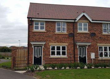 Thumbnail 2 bed end terrace house to rent in Council Villas, Carr Lane, Redbourne, Gainsborough