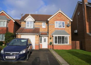 Thumbnail 4 bed detached house for sale in Pendeen Grove, Darlington