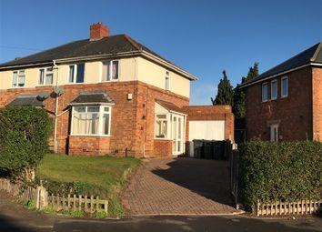 Thumbnail 3 bedroom semi-detached house for sale in Summerlee Road, Erdington, Birmingham