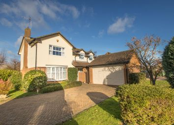 Thumbnail 4 bed detached house for sale in Elsmore Close, Aylesbury