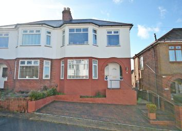 Thumbnail 3 bedroom semi-detached house for sale in Stylish Bay-Fronted House, Northumberland Road, Newport