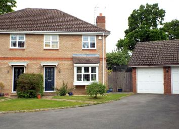 Thumbnail 3 bed semi-detached house for sale in Cavendish Road, Church Crookham, Fleet