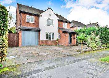 Thumbnail 5 bed detached house for sale in Woodlands Road Pownall Park, Wilmslow