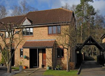 Thumbnail 2 bed end terrace house to rent in Wentworth Close, Crowthorne, Berkshire