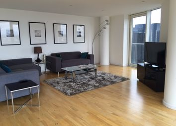 Thumbnail 3 bedroom flat to rent in Ability Place Mill Harbour, London Canary Wharf