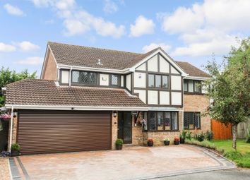 Thumbnail 4 bed detached house for sale in Crispin Close, Horton Heath, Eastleigh