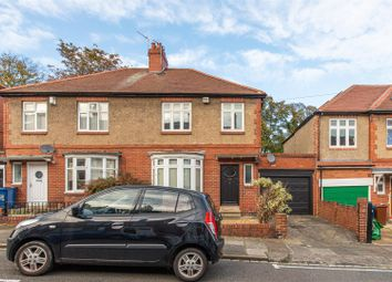 Thumbnail 5 bed semi-detached house for sale in Grosvenor Avenue, Jesmond, Newcastle Upon Tyne