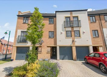 Thumbnail 3 bedroom town house for sale in Farrow Avenue, Hampton Vale, Peterborough