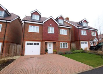 Thumbnail 5 bed detached house to rent in Brookwood Farm Drive, Knaphill, Woking