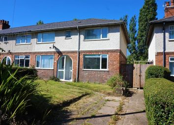 Thumbnail 3 bed semi-detached house to rent in Linden Road, Bournville, Birmingham