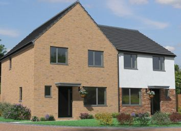 Thumbnail 3 bedroom semi-detached house for sale in Chester Drive, Lakeside, Doncaster