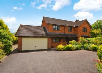 Thumbnail 4 bed detached house for sale in Alexandra Road, Crediton, Devon