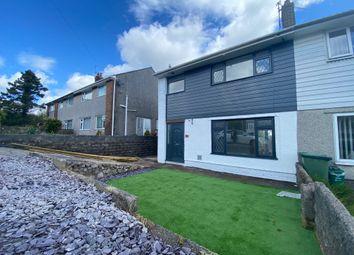 Thumbnail 3 bed semi-detached house for sale in Heol Mwyrdy, Beddau, Pontypridd