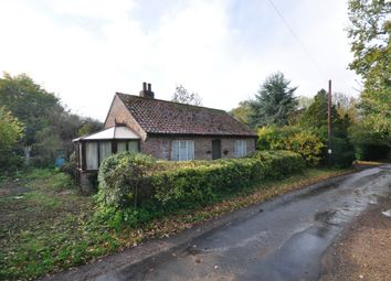 Thumbnail 2 bed detached bungalow for sale in Church Hill, Tasburgh, Norwich