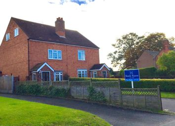 Thumbnail 4 bedroom semi-detached house for sale in Church Road, Crowle, Worcester