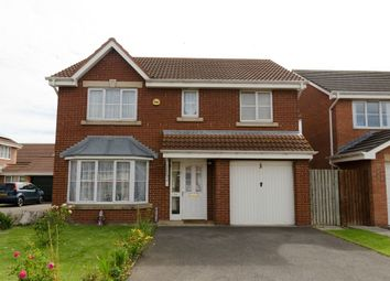 Thumbnail 4 bed detached house for sale in Harvester Close, Hartlepool, Durham
