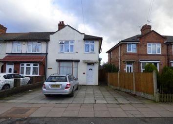 Thumbnail 3 bedroom end terrace house for sale in Capcroft Rd, Billesley, Birmingham, West Midlands