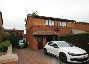 Thumbnail 2 bed semi-detached house for sale in Glascoed Way, Summerhill, Wrexham