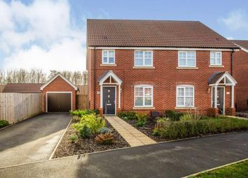 Thumbnail 3 bedroom semi-detached house for sale in Wymondham, Norwich, Norfolk