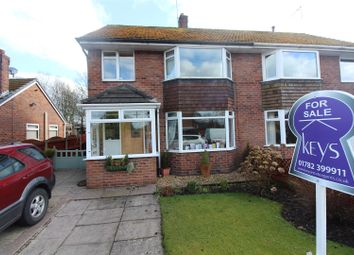 Thumbnail 3 bed semi-detached house for sale in Cedar Avenue, Blythe Bridge, Stoke-On-Trent