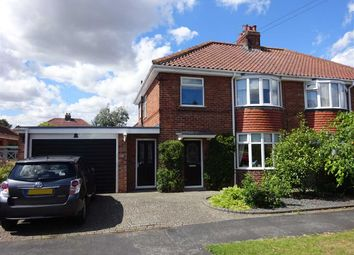 Thumbnail 4 bed semi-detached house for sale in Temple Road, Bishopthorpe, York