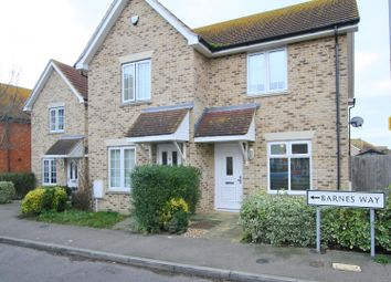 Thumbnail 2 bedroom end terrace house to rent in Barnes Way, Herne Bay