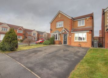 4 bed detached house for sale in Newbell Court, Consett DH8