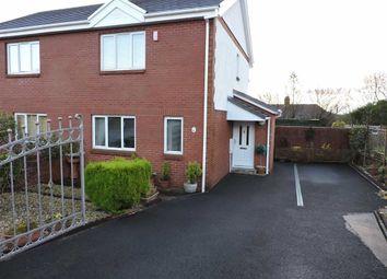 Thumbnail 2 bed semi-detached house for sale in Tir Dafydd, Pontyates, Llanelli