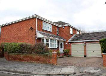 Thumbnail 4 bed detached house for sale in Alnwick Close, Hartlepool