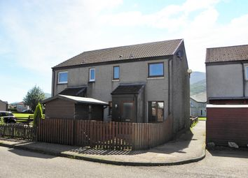 Thumbnail 1 bed end terrace house for sale in Lochyside, Fort William