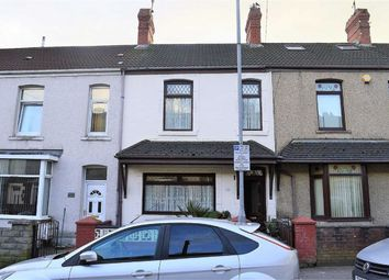 Thumbnail 3 bed terraced house for sale in Danygraig Road, Swansea