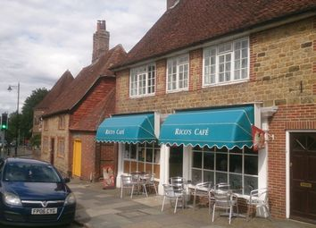 Thumbnail Restaurant/cafe for sale in North Street, Midhurst, West Sussex