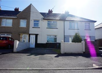 Thumbnail 3 bed terraced house for sale in Whitmuir Road, Cardiff