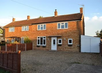Thumbnail 3 bed semi-detached house for sale in Clapper Lane, Clenchwarton, King's Lynn