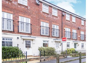 Thumbnail 3 bedroom town house for sale in Navigation Drive, Glen Parva, Leicester