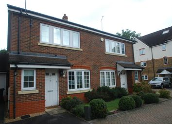 Thumbnail 3 bed semi-detached house to rent in Fircroft Road, Englefield Green, Egham